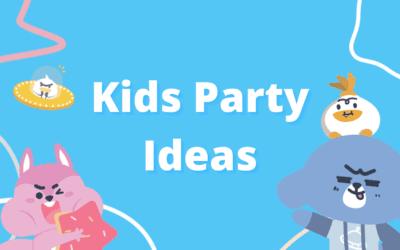 5 Theme Ideas For Your Next Kids Birthday Party